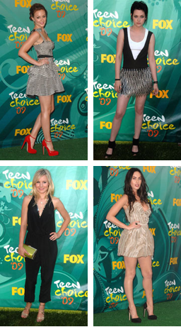 Which celebrity had the best Teen Choice Awards look?