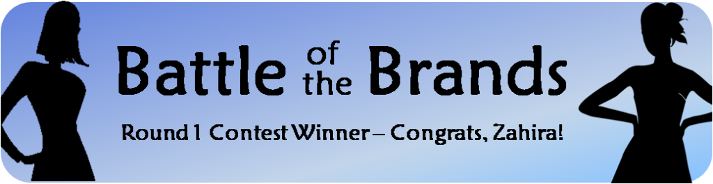 Battle of the Brands Round 1: Congrats to our Contest Winner!