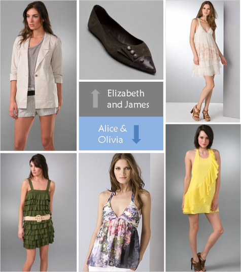 Elizabeth and James vs. Alice & Olivia - Which Do You Want to Win?