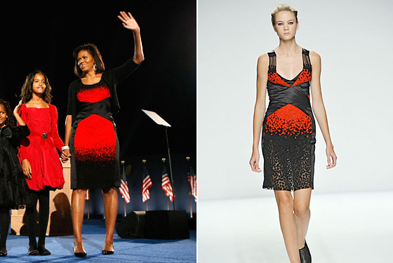Michelle Obama Narciso Dress