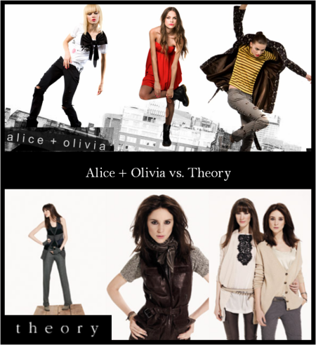 Alice & Olivia vs. Theory - What Brand is Better?