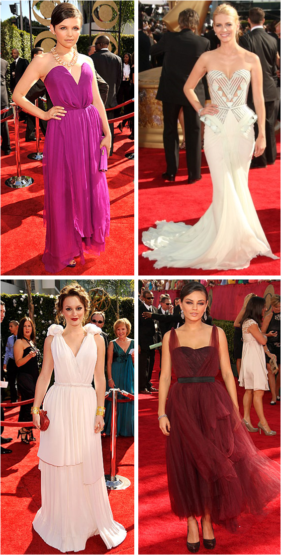 Our favorite Red Carpet looks from the Emmy Awards!