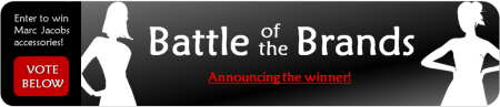 Announcing the Winner of Battle of the Brands