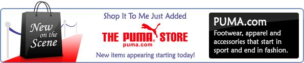 New On The Scene -- Puma.com