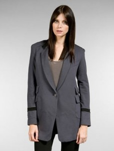 The Battalion Equestrian Blazer in Slate