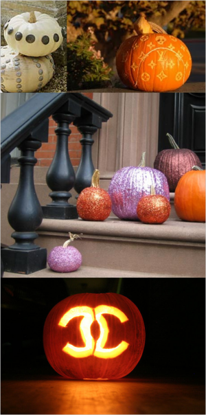 Halloween's Most Fashionable Pumpkins!