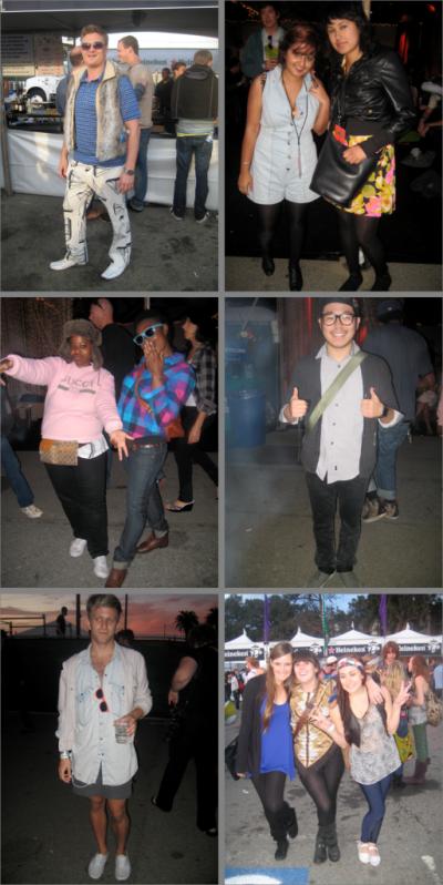 San Francisco Street Style - The Treasure Island Music Festival!