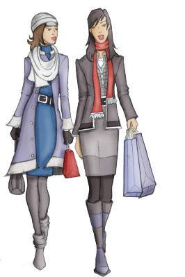 Two shopping women_opt