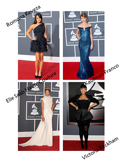 Grammy Awards Style - our Favorites from the Red Carpet!