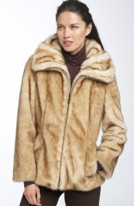 Deal Of The Day: Bernardo Faux Mink Fur Jacket