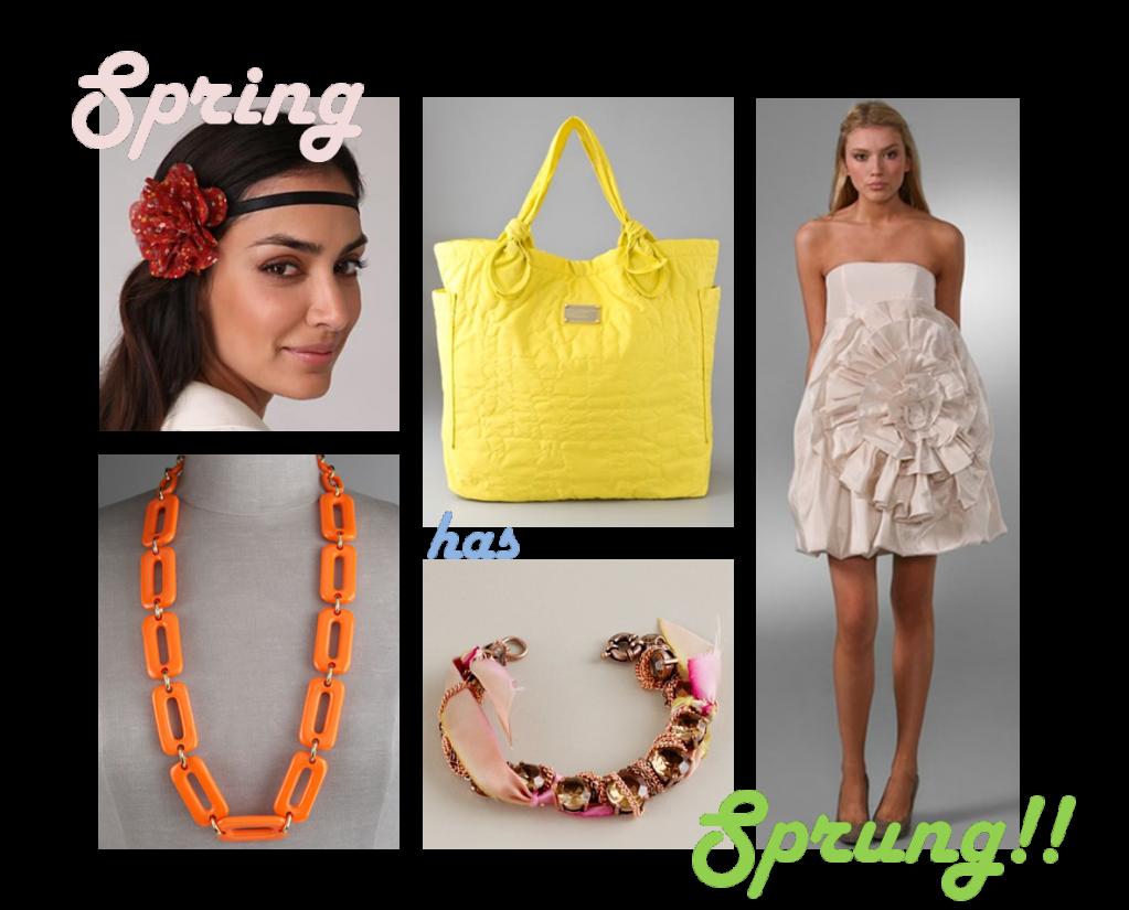 Lighten up, it's spring!