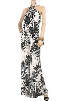 Deal of the Day: Stella McCartney Tropical-print silk jumpsuit