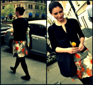 floral<em>skirt</em>spring<em>street</em>style
