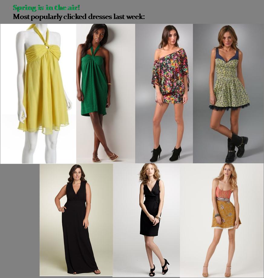 """""""Best Salers"""" Last Week: Spring Dresses"""