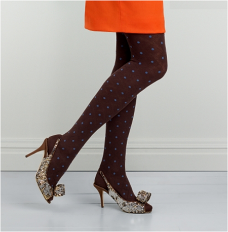 Deal of the Day: Kate Spade Polka Dot Tights