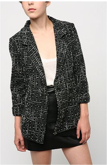 Deal of the Day: Urban Outfitters Tweed Blazer for $20