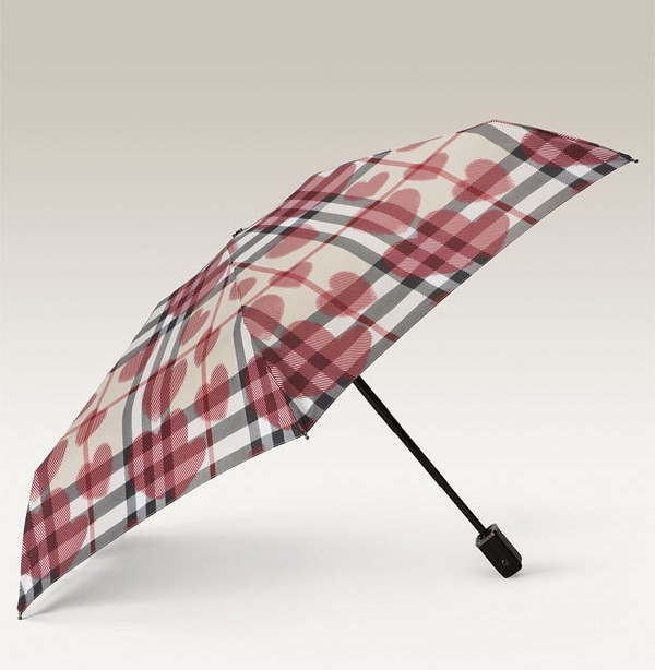Deal of the Day: Burberry Check Compact Umbrella