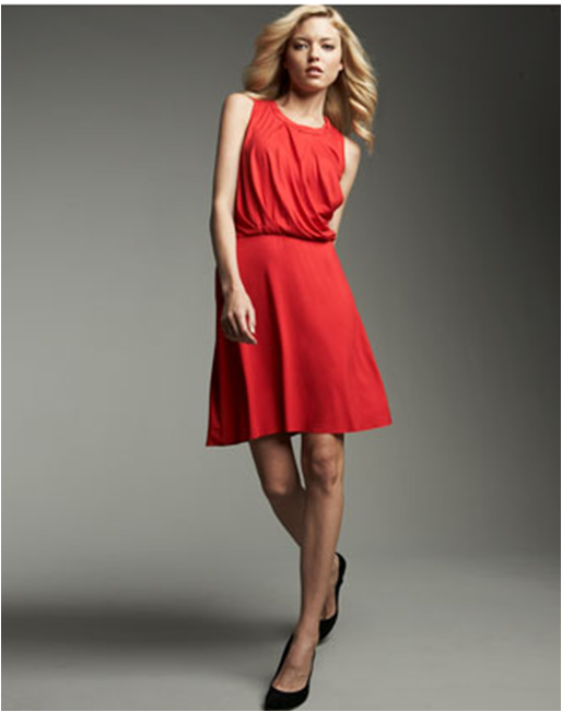 Deal of the Day: Three Dots Draped Dress for $67
