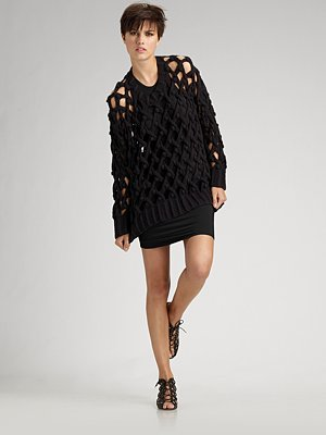 Deal of the Day: Alexander Wang Lattice Bobble Sweater