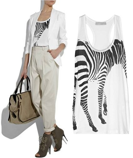 Deal of the Day: Stella McCartney Zebra Top