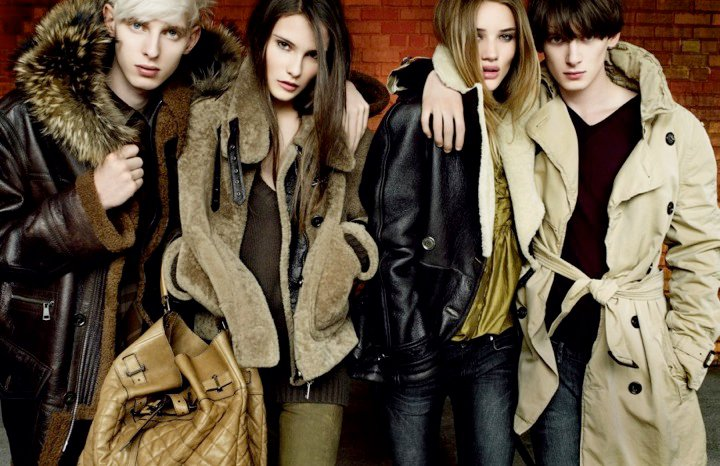 Burberry Launches New Interactive Ad Campaign