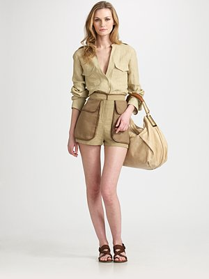 Deal of the Day: Chloé Contrast Pocket Shorts