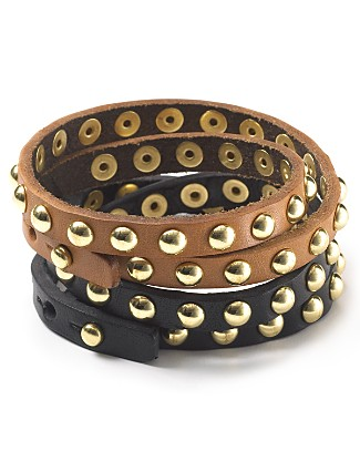 Deal of the Day: Linea Pelle Double Wrap Bracelet