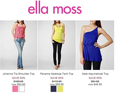 Ella Moss Private Sale
