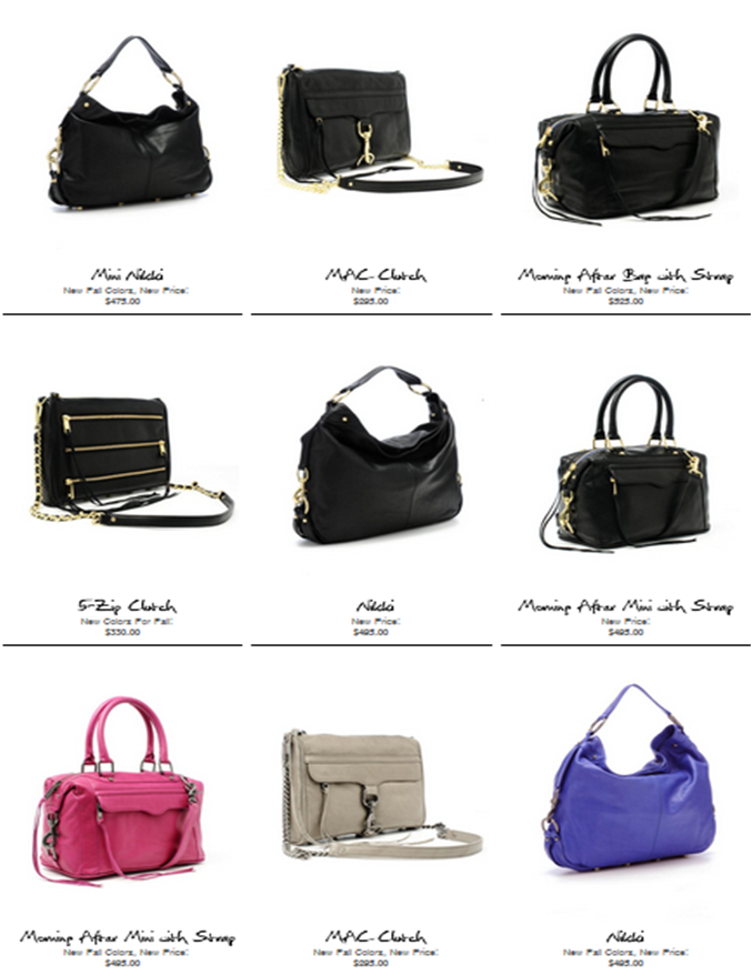 Looking for a good reason to shop? Rebecca Minkoff delivers!!
