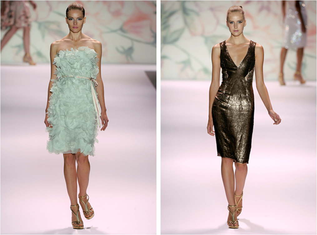 Dazzling Dresses at Monique Lhuillier