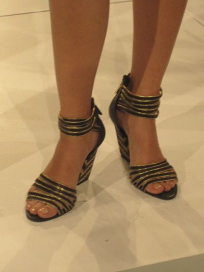 strappy shoes