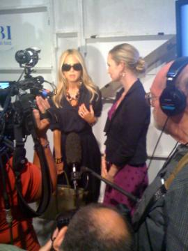 interviewing Rachel Zoe