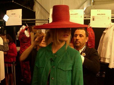 carolina herrera hat