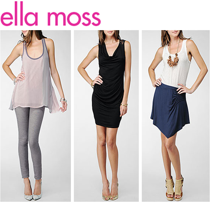 Shop basics with Ella Moss and Splendid!