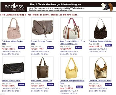 Deal of the Day: An Endless sale at Endless.com!