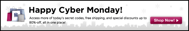 Deal of the Day: Cyber Monday Sales!