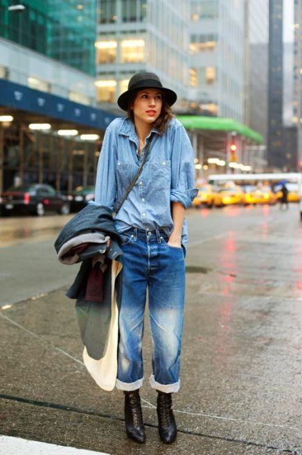 denim-on-denim-rolled-jeans
