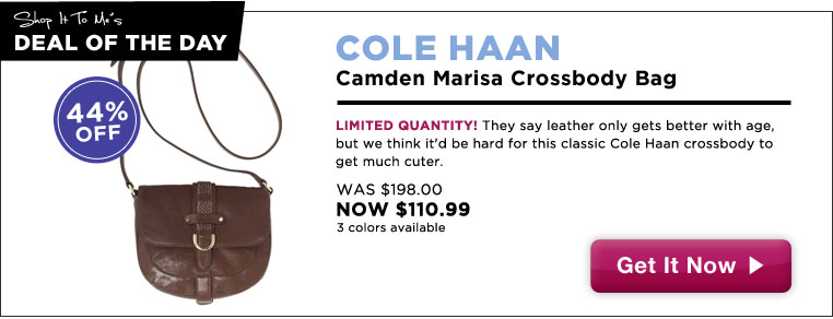 Cole Haan Crossbody, 44% off: Deal of the Day!