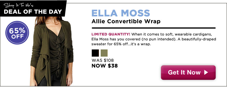 Ella Moss Convertible Wrap, 65% off: Deal of the Day!