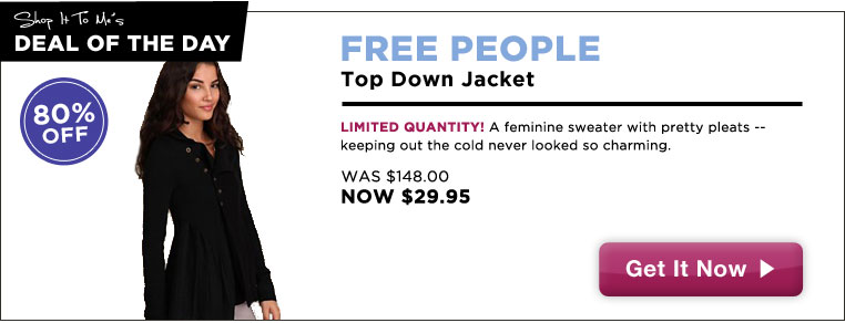 Free People Sweater, 80% off: Deal of the Day!