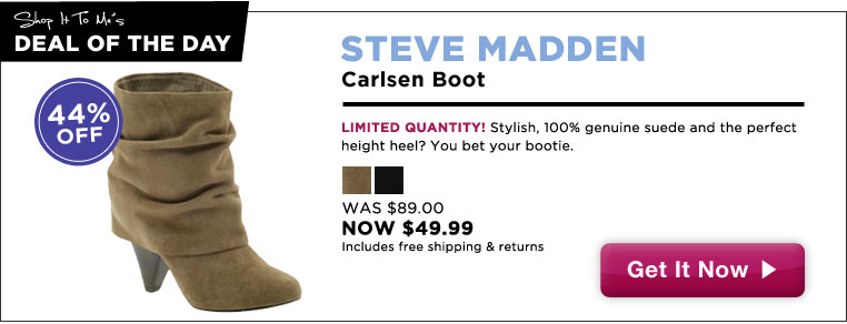 Steve Madden Boots, 44% Off: Deal of the Day!