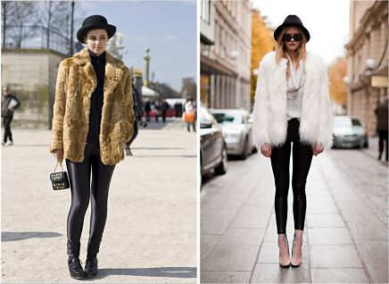 leggings-fur-jacket