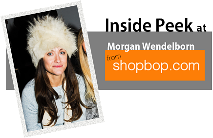Inside Peek at Shopbop Style Director </br> Morgan Wendelborn