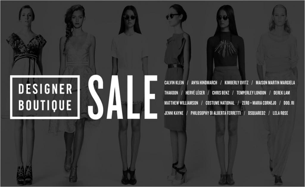 Shopbop Designer Boutique Sale