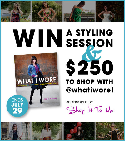 Win $250 to shop with What I Wore!