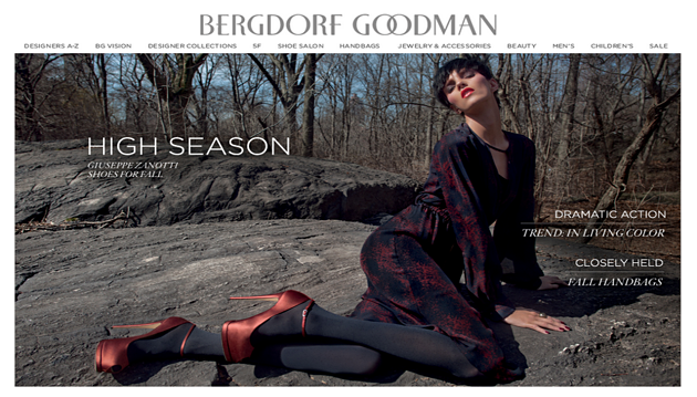 Just Added: BergdorfGoodman.com and AlexanderWang.com