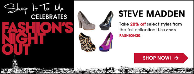 Fashion's Night Out with Steve Madden