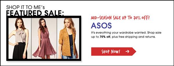 Asos Mid-season Sale