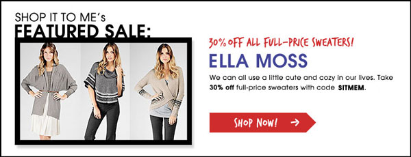 This Week Only: Cozy Up With These Exclusive Fall Sales