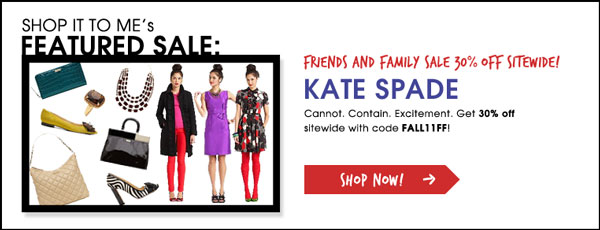 Hurry! Friends and Family Sales Happening Now.